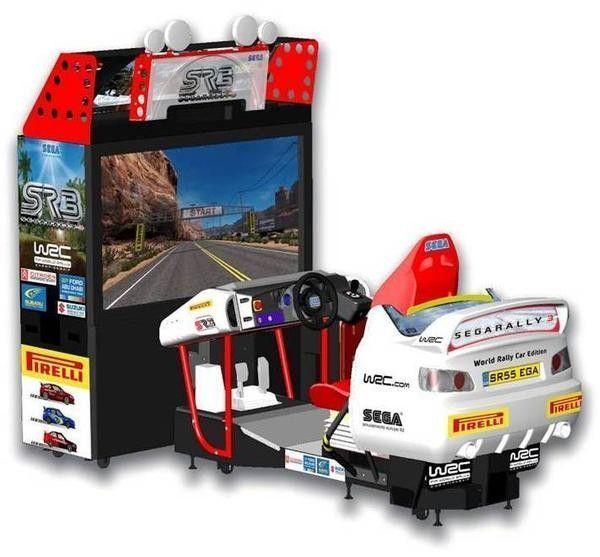 borne arcade sega rally 3